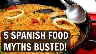 Paella, sangria, churros... 5 Spanish food myths busted!