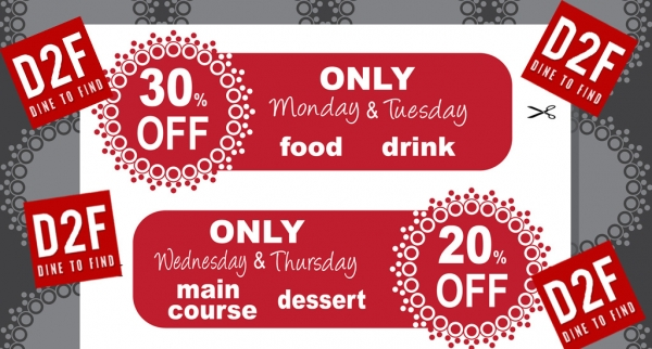 Discount Vouchers/Special Offers/Meal Deals